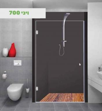 מקלחוני חזית לפי מידה