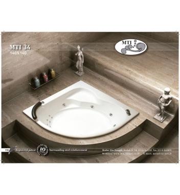 אמבטיות פינתיות
