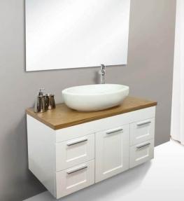 ארון אמבטיה דגם סקויה בוצ'ר