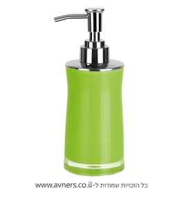 דיספנסר לסבון נוזלי ירוק
