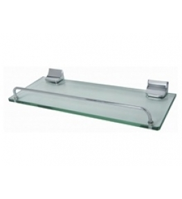 מדף זכוכית ניקל 35 ס