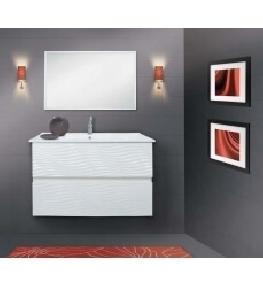 ארון אמבטיה דגם באלי גלים