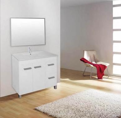 ארון אמבטיה דגם יואב פשתן קרם