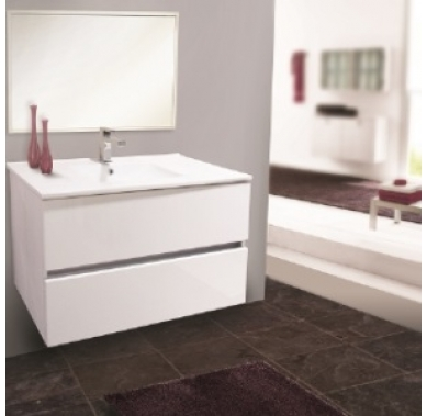 ארון-אמבטיה-תלוי-דגם-גולד-לבן-מבריק
