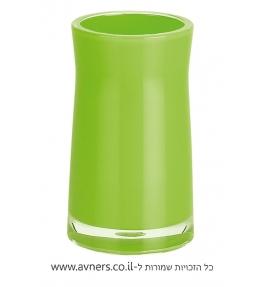 כוס למברשת שיניים ירוק
