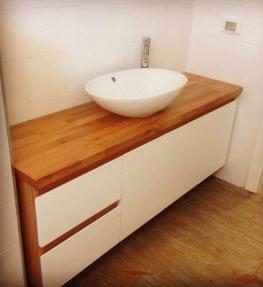 ארון אמבטיה מערכת וודי אול