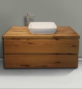 ארון אמבטיה דגם Woodi